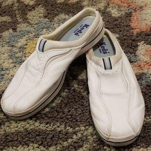 Keds White Slip on Sneakers